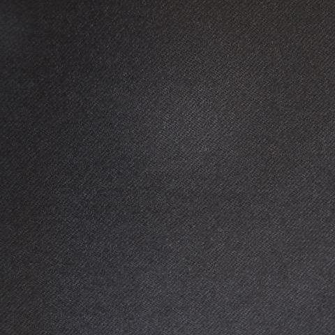 100% laine - Drap de laine noire