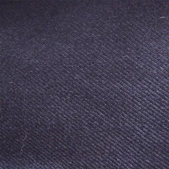 100% laine - Drap de laine bleue