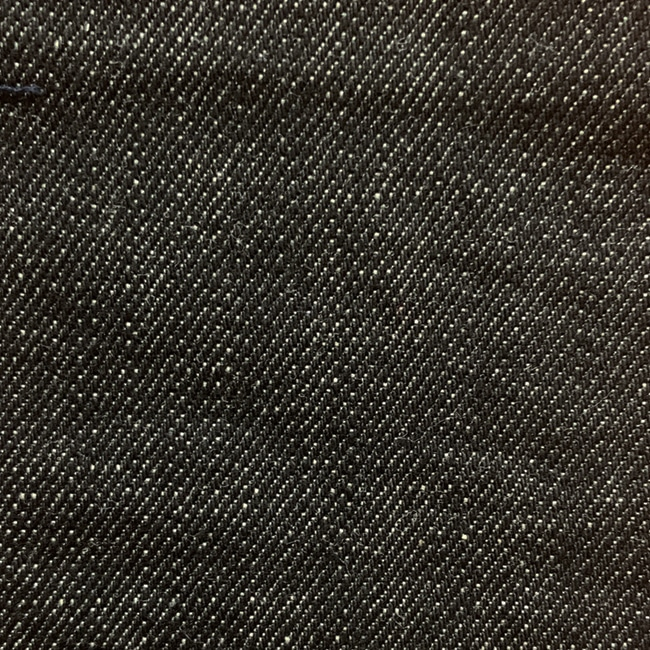 Denim noir 100%coton