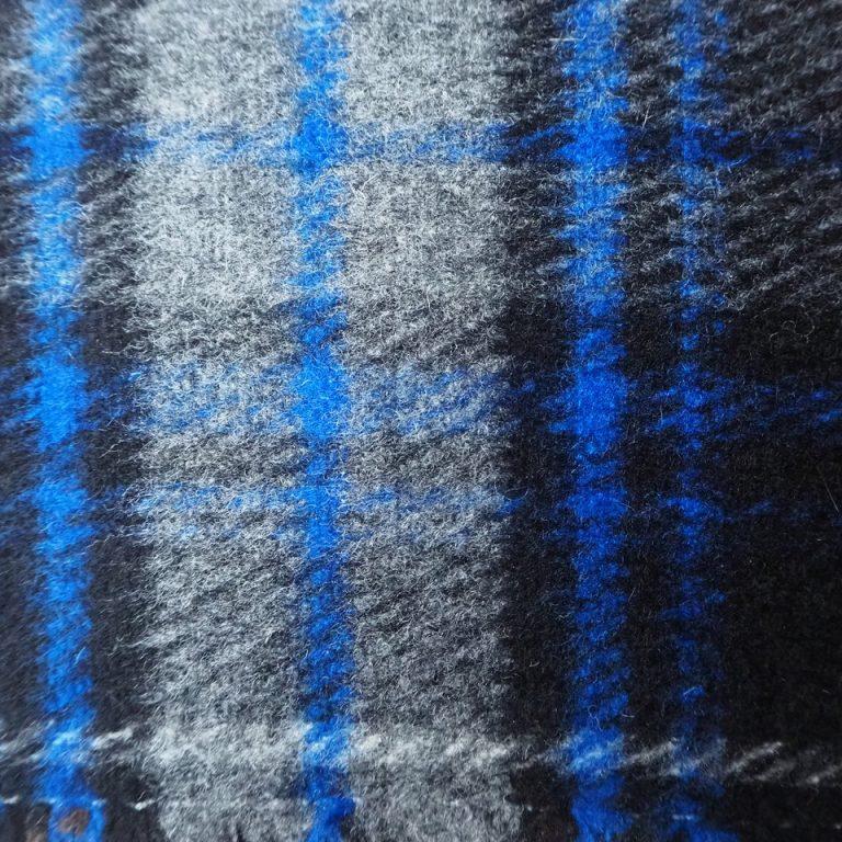 100% laine - Double Carreaux
